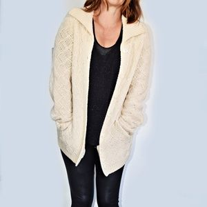 Hand Knit Cardigan from Express